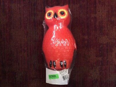 Halloween blow mold Owl Union products vintage