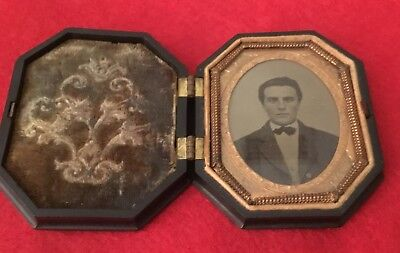 Union Cased Ninth Plate Ambrotype