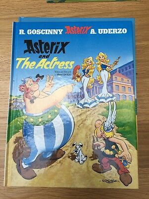 Asterix And The Actress Hardback HB