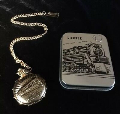 1999 Lionel American Legend 100 Year Pocket Watch with Tin and COA
