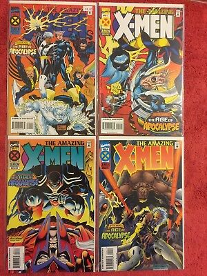 Amazing X-Men 1 2 3 4 Marvel RUN  4 Complete VF+ Age of Apocalypse Nicieza Kuber