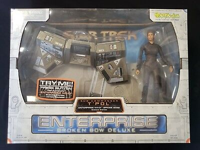 Star Trek Enterprise Broken Bow Commander T' Pol Deluxe Action Figure