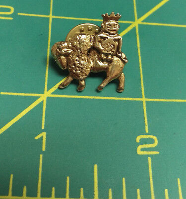 ROYAL ORDER OF JESTERS lapel pin - Mason Shriner Group - # 22 biliken on Bison