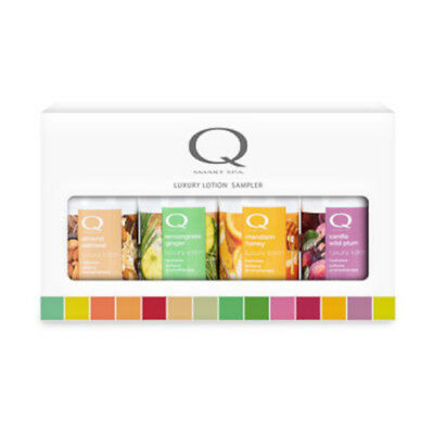 QTICA SMART SPA Luxury Lotion Holiday Sampler.