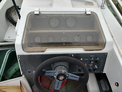 Gauge Dash Cover Lid Only! From A Chris Craft Scorpion 210 Ltd Parting Out Boat