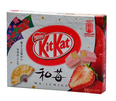 New Strawberry Kit Kat Nestle Chocolate Kitkat Japan Small Box Oz Seller
