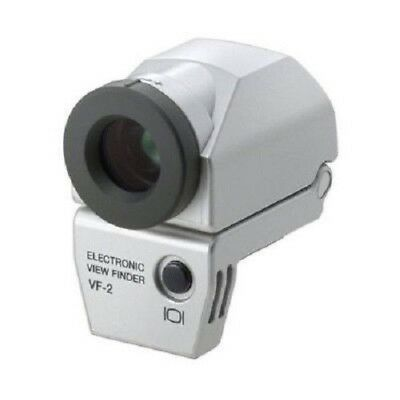 USED Olympus VF-2 electronic viewfinder Silver Excellent FREE SHIPPING