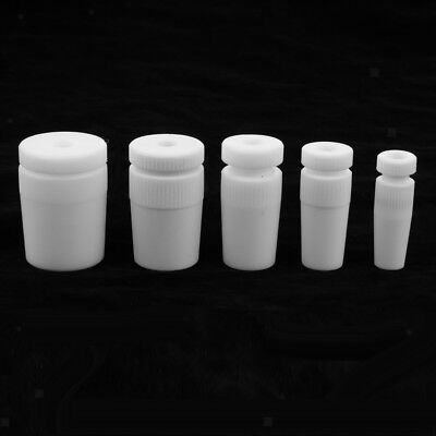 PTFE Stopper Plug for PTFE Stirring Rod Φ8mm Cylindrical Cylinder PTFE Plug