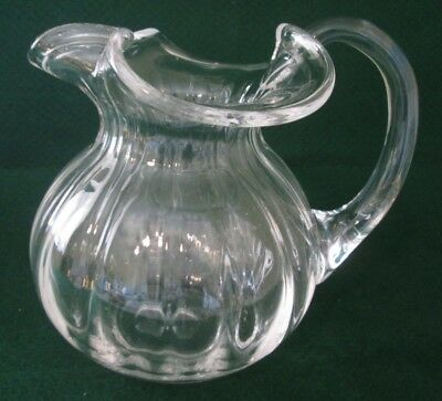 Tiffany Co Devon Crystal Water Pitcher Etched