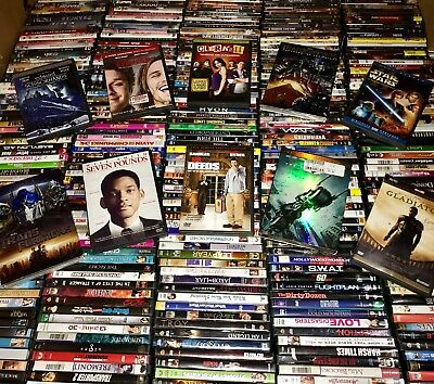 150 DVD Movies Assorted Wholesale Lot Bulk Used DVDs 150 ALL MOVIES! $2K + MSRP!
