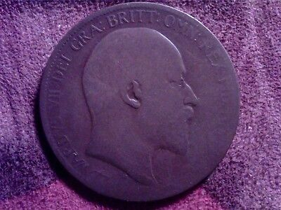 Great   Britain  One  Penny  1902   0Ct10