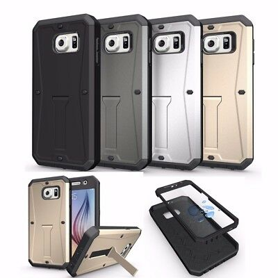 Samsung Galaxy S6/S7 Armor Shockproof Otterbox Style Hybrid Drop Protective Case