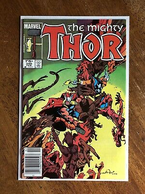 Thor #340 (75c Canadian Price Variant) 2nd Storm Breaker, HIGH GRADE
