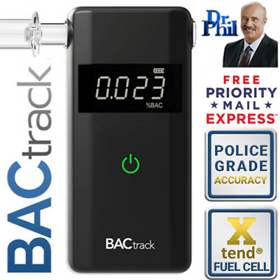Breathalyzer. Alcohol Tester. BACtrack Scout. XTEND® FUEL CELL. 100% Genuine