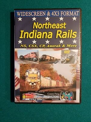 Northeast Indiana Rails Two DVD Set Green Frog Productions