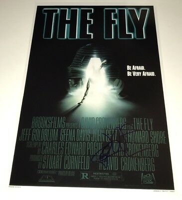 Jeff Goldblum THE FLY Hand Signed 11X17 Photo IN PERSON Autograph