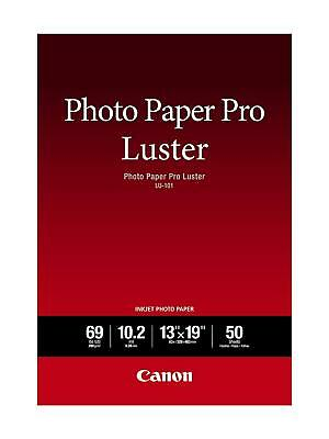 """Canon LU-101 Photo Paper Pro Luster, 102gsm, 10.2 mil, 13x19"""", 50 Sheets ✔️✔️✔️"""