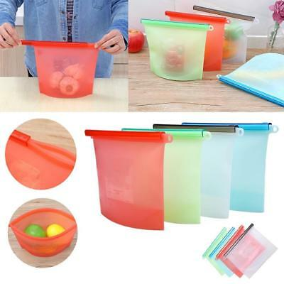 1500ml Food Plastic Silicone Refrigerator Wrap Storage Reusable Preservation Bag