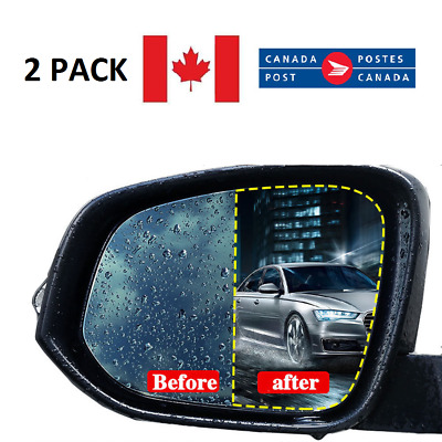 Anti Fog Rainproof Waterproof Rearview Side Car Protective Mirror Film Oval