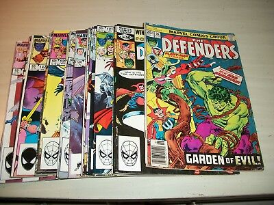 Marvel The Defenders Comic Book Lot 1976-1985