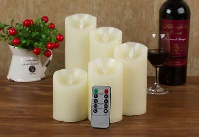 LED Flameless Candle 10-key Remote Control with 24-hour Timer Function HJ