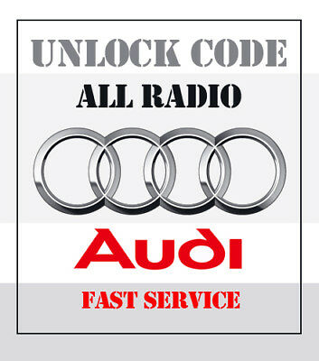 AUDI Radio Code Service RNS-E Plus + Symphony | Concert 2 | Chorus | and other