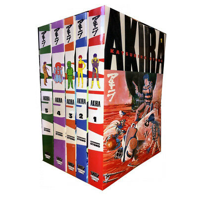 Katsuhiro Otomo Collection Akira Volume 1-5 Series 1 Manga Book 5 Books PB NEW
