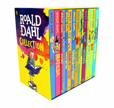 Roald Dahl Collection 15 Books Children Box Set,With Roald Dahl Quiz Book PB NEW