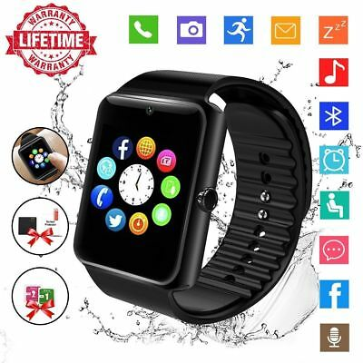 Bluetooth Touch Screen Smart Watch Pedometer Android Camera SIM Card 2G Network