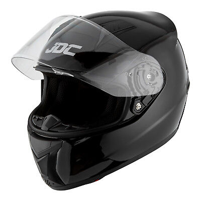 JDC Motorcycle Motorbike Helmet Full Face ECE Approved - PRISM