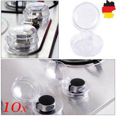 10x Stove Knob Covers Baby Proof Oven Gas Switch Safe Protector Shield