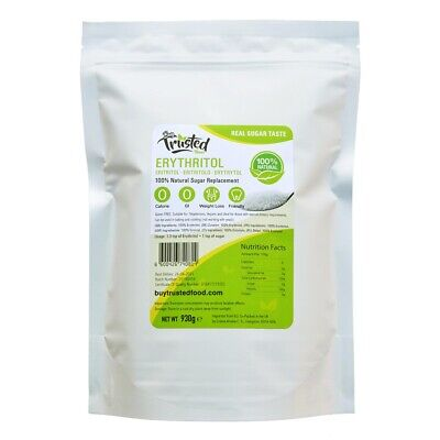 Erythritol 1kg 2kg - ZERO Calorie 100% Natural Sugar Replacement