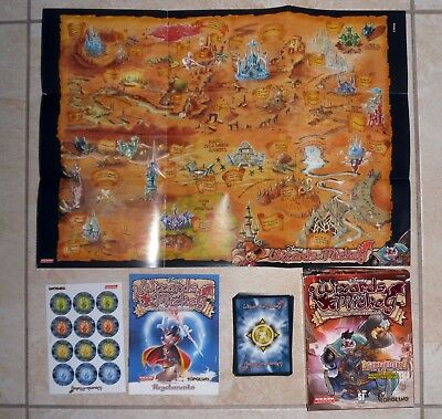 DISNEY Fantasy WIZARDS OF MICKEY Mazzo Gambadilegno Deck Set Completo Accessori