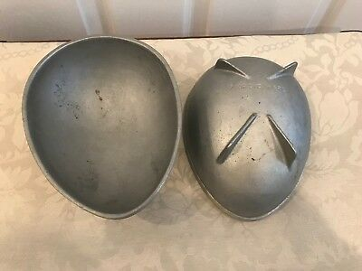 Vintage Nordic Ware Egg Shaped Mold Set