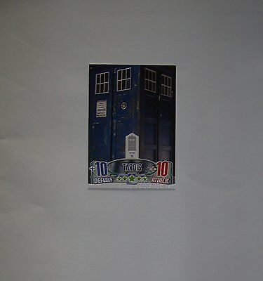 Doctor Who Alien Attax 50th Anniversay set - Tardis puzzle card T5 Tardis
