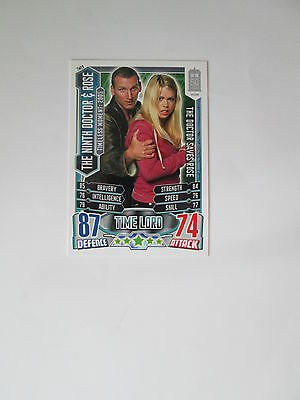 Doctor Who Alien Attax 50th Anniversay set - TM19 The Ninth Doctor & Rose