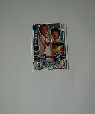 Doctor Who Alien Attax 50th Anniversay set - card C5 Fifth Doctor & Tegan