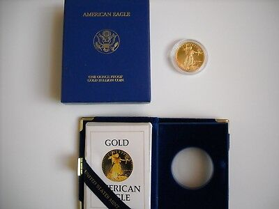 1986-W  $50 American Gold Eagle - Proof