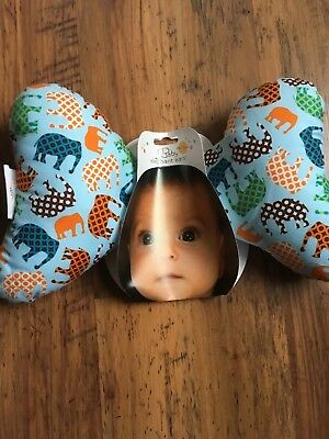 The Original Baby Elephant Ears Comfy Head Support For Babies/ Infant Car seat