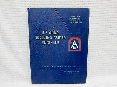 U S Army Training Center Engineer Year Book 1962 Fort Leonard Wood Missouri A5
