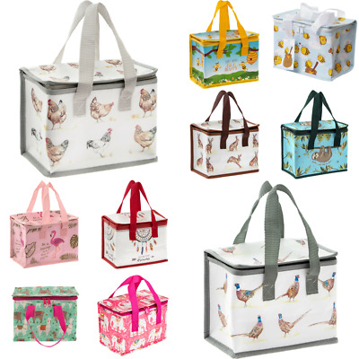 Childrens Kids Lunch Bags Insulated Cool Lunch Bag Country Life Collection