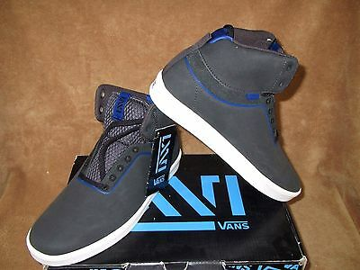 76facc8250 NEW VANS LXVI Stat Skate Shoe Charcoal  royal Men s 6.5 -  33.99 ...