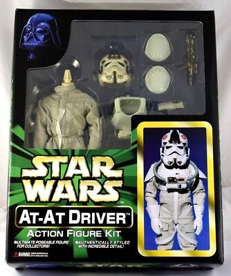 Star Wars - Super Rare Tomy Marmit 1/6 Scale At-At Driver Figure Misb