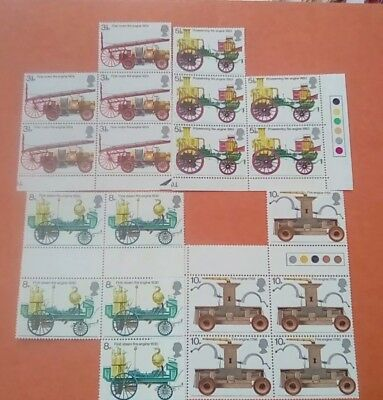 1974 GB SG 950-953 Fire Prevention Service Engines 20 stamps