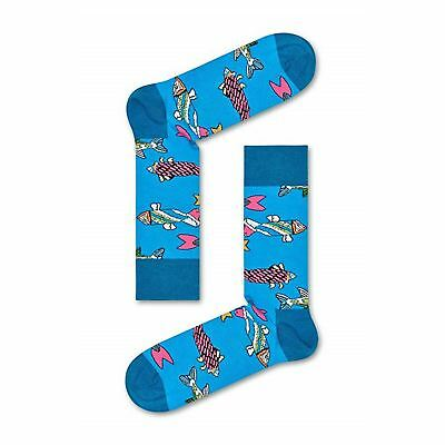 Happy Socks The Beatles Collectors Item UK 7.5-11.5 Unisex Socks Xmas Gift Box