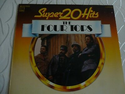 LP The Four Tops , 20 Super Hits , neuwertg