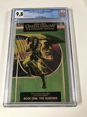 Green Arrow Longbow Hunters 1 Cgc 9.8 White Pages