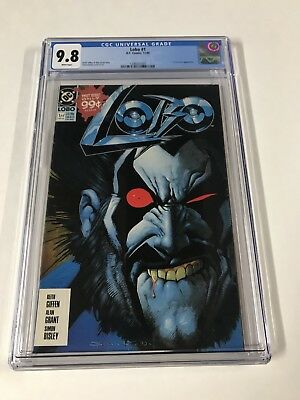 Lobo 1 Cgc 9.8 White Pages (1990) Dc