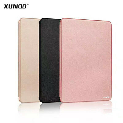 Xundd Genuine Silicon Luxury Magnetic Flip Book Case Stand Wallet Cover For iPad