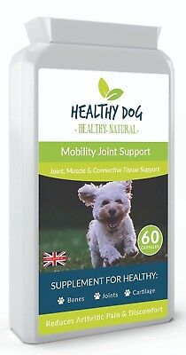 Glucosamine Dog Supplement Mobility Hip Joint Support Stiff, Working & Old Dogs